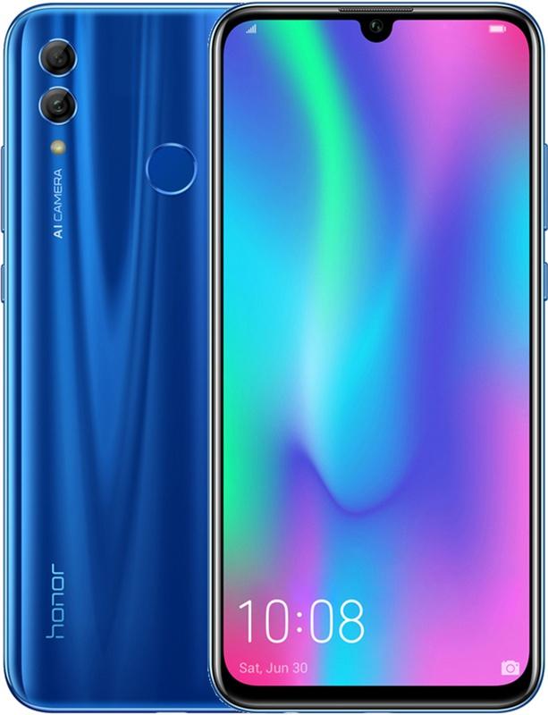 Honor 10 Lite Sapphire Blue + screenprotector @ Amazon.de