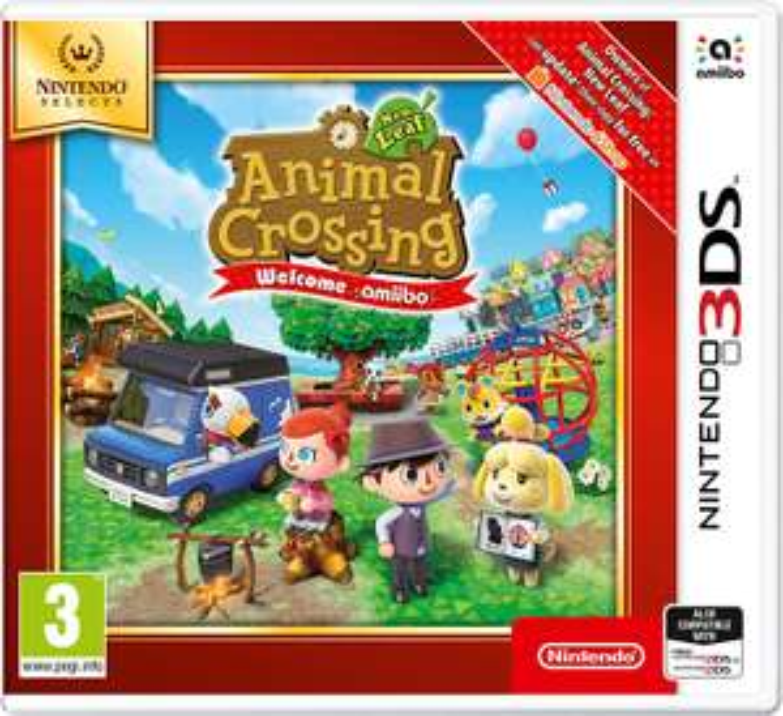 [3DS] Animal Crossing: New Leaf - Welcome Amiibo (nintendo selects) voor €13,57 @ Amazon NL