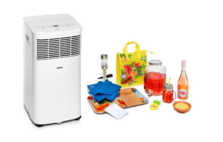 [Grensdeal - België]: Summerbox HUBO: airco + zomerspullen