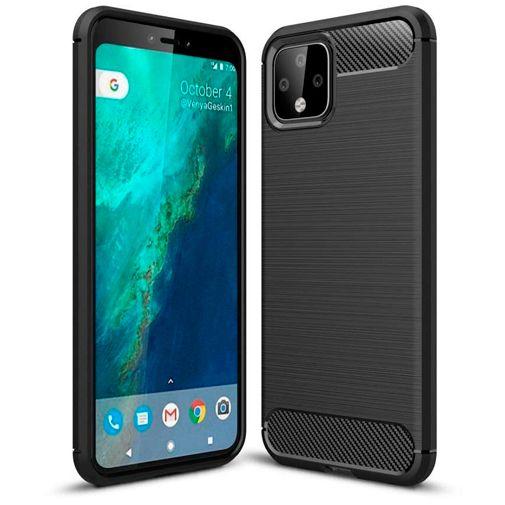 Just in Case Rugged TPU Case voor Google Pixel 4 XL Case @ Belsimpel