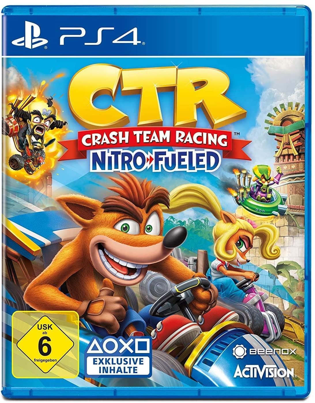 Crash Team Racing Nitro Fueled PS4 @Amazon.nl