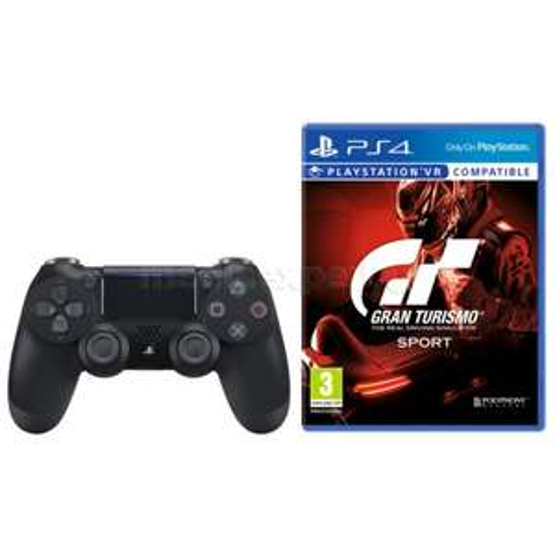 Sony Dualshock 4 V2 Controller + Gran Turismo Sport @ BCC