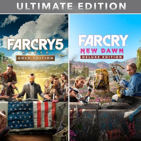 Far Cry 5 Gold Edtion + Far Cry New Dawn Deluxe Edition + Far Cry 3 Classic Edition @ PSN
