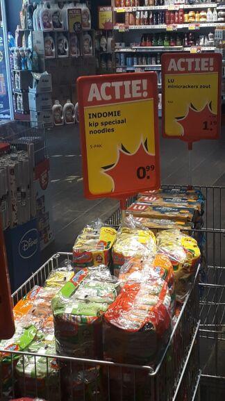 Indomie Noodles Chicken | 5-pak @Kruidvat Utrecht - Vredenburg