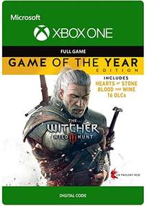 The Witcher 3: Wild Hunt - Game of The Year (Xbox One - Download Code) @ Amazon.co.uk