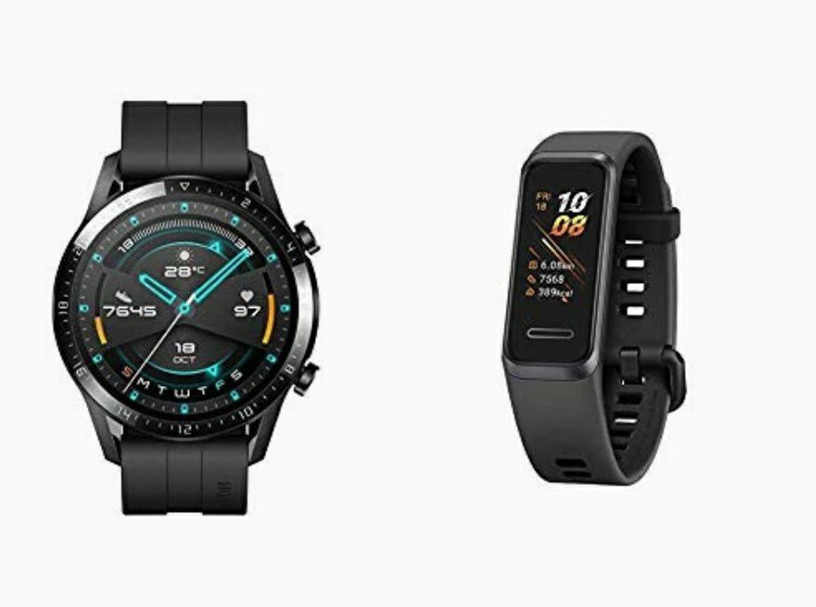 Huawei watch GT2 (46mm) + Huawei band 4