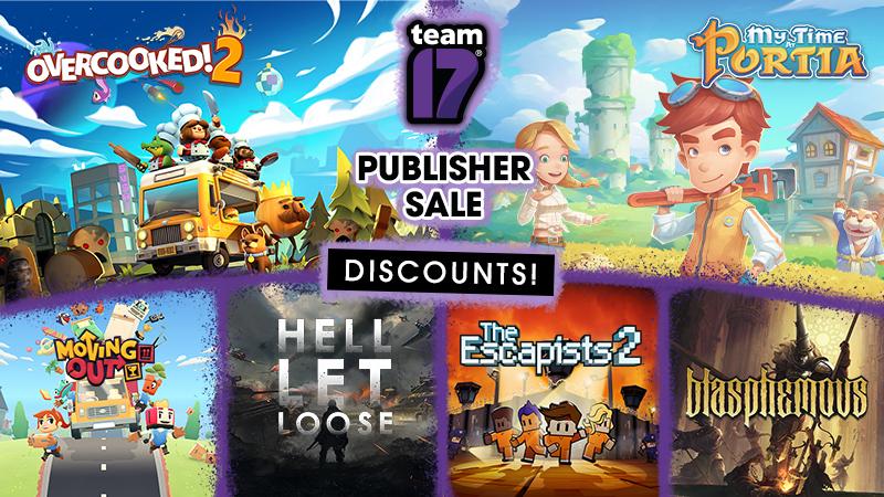 (Steam) Team 17 publisher sale tot 90% korting. Overcooked, Yooka-Laylee, The Escapists en meer.