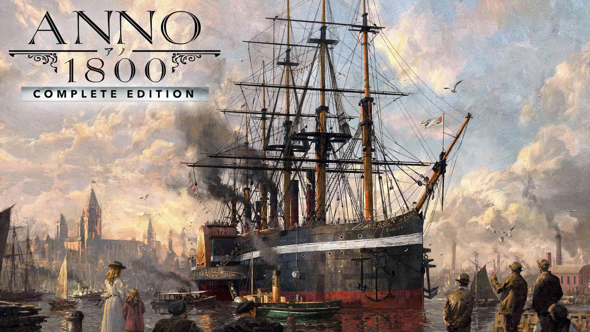 Anno 1800 Complete Edition incl Season Pass 1 & 2