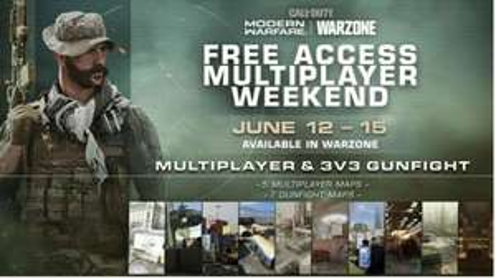 Call of Duty: Modern Warfare gratis weekend (PS4, Xbox, PC) vanaf 19:00 uur