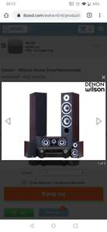 Denon - Wilson Home Cinema Set
