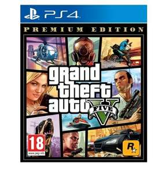 Grand Theft Auto V: Premium Online Edition (PS4)