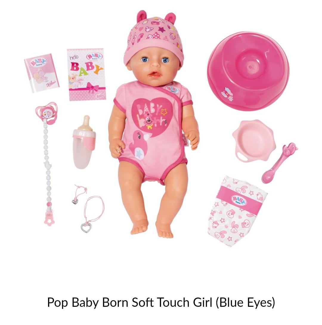 Zapf interactieve baby born