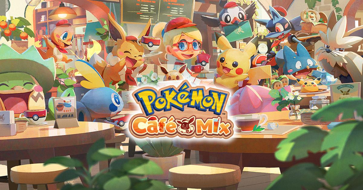 Gratis Game Pokémon Café Mix voor de Nintendo Switch - Android - iOS
