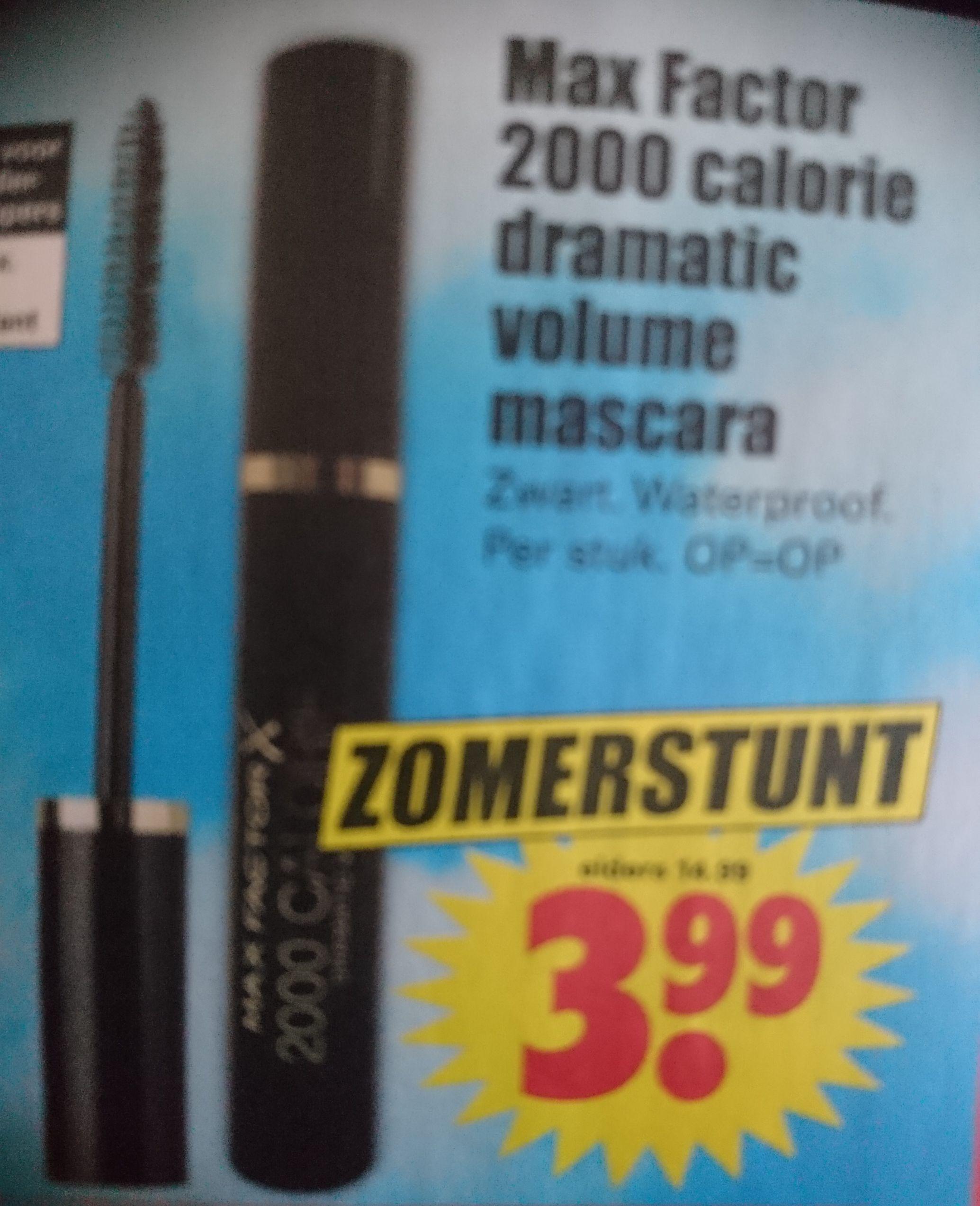 Max factor 2000 Calorie dramatic Volume Mascara