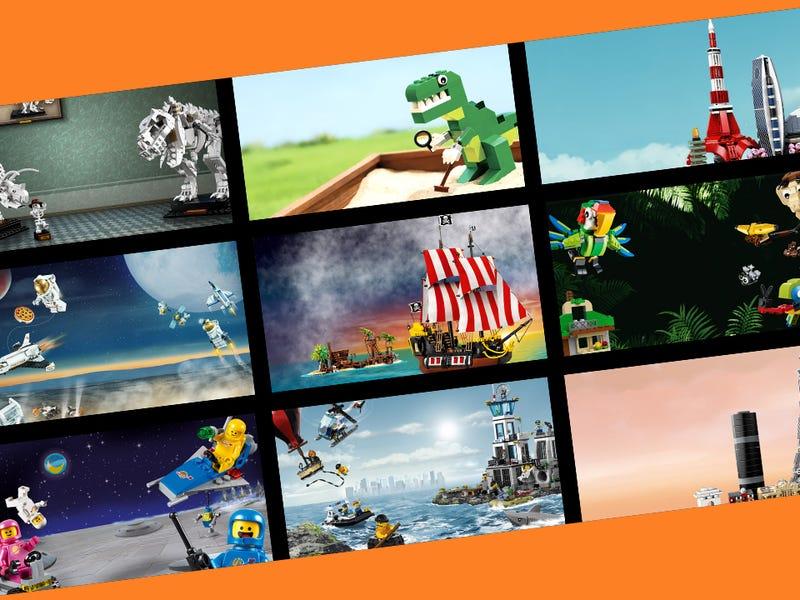 Gratis Lego achtergronden