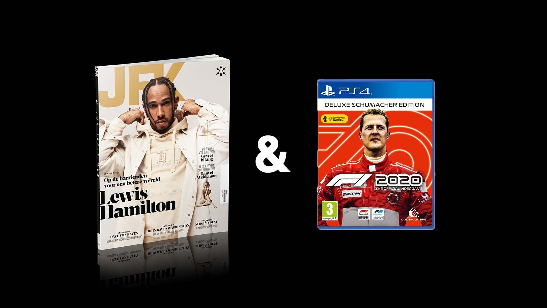Jaarabonnement JFK Magazine met F1 2020 Deluxe PS4 / X-Box / PC