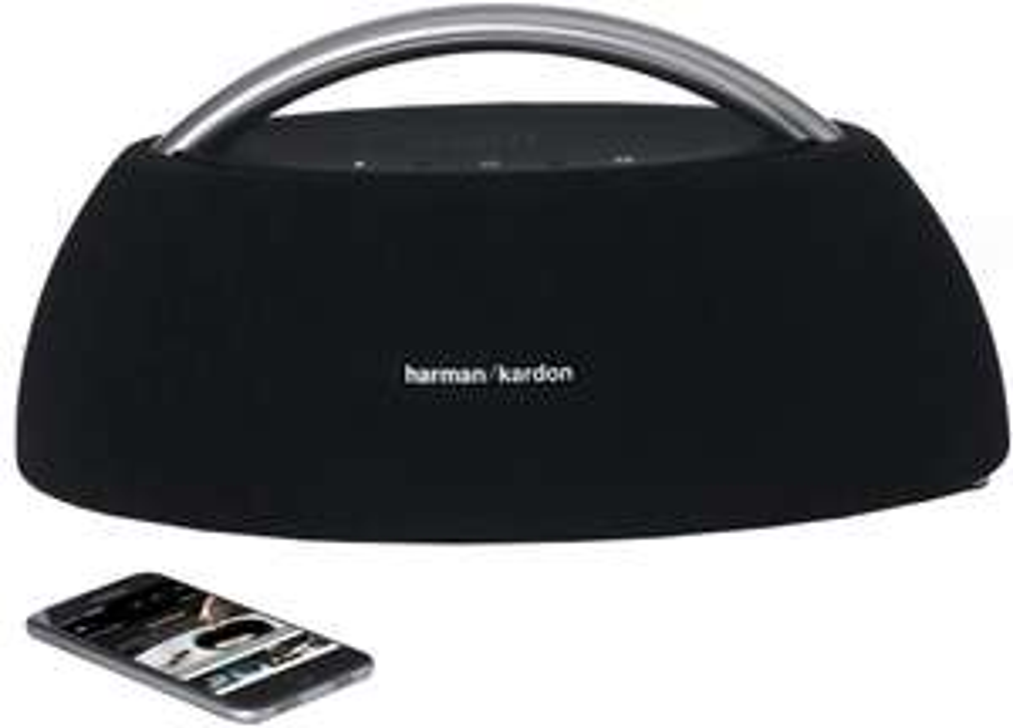 Harman Kardon Go + Play Wireless 2.0 Zwart