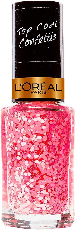 L 'Oréal Paris Color Riche Quads nagellak 829 confetti pink.