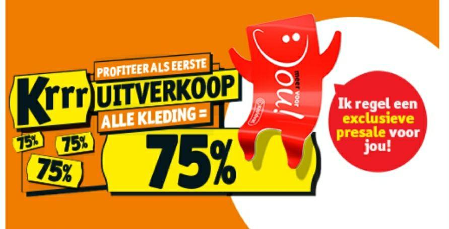 Kruidvat 75% en 50% korting in winkel en online