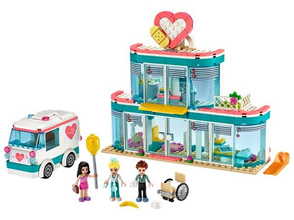 Lego Friends Heartlake City ziekenhuis (41394). Daarnaast meerdere Lego Friends sets extra scherp geprijsd!