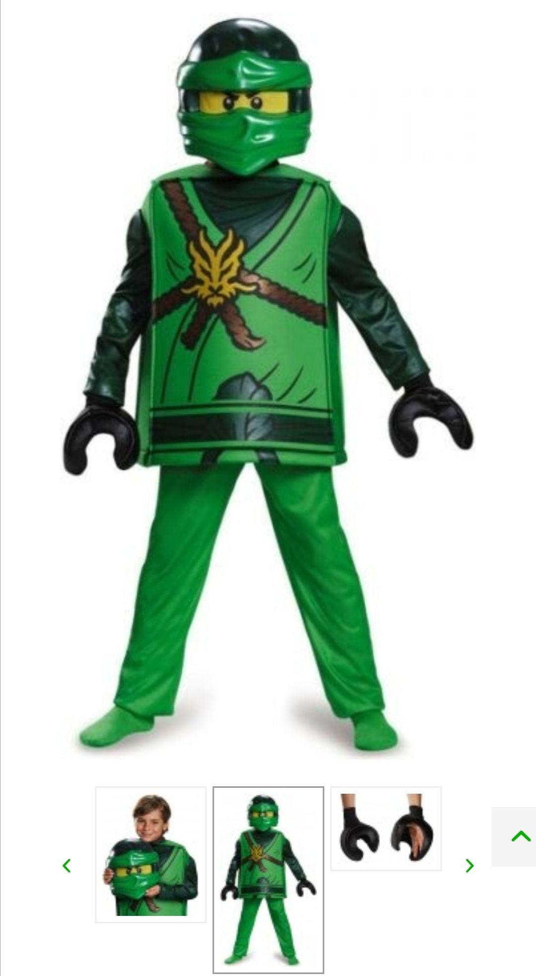 Lego Ninjago kostuum! Lloyd Deluxe 98099K