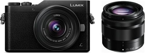 Panasonic GX800 systeemcamera met 2 lenzen: 12-32 en 35-100