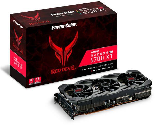 [Grensdeal Duitsland] Powercolor Radeon RX 5700 XT Dual (ook Red Dragon / Red Devil in aanbieding)
