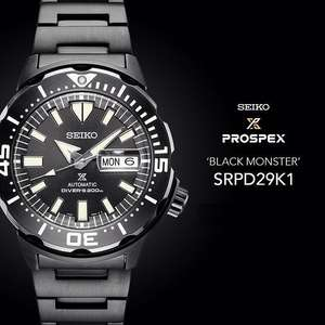Seiko Monster SRPD29K1 Diver watch @Seiko-Outlet-Store - Roermond