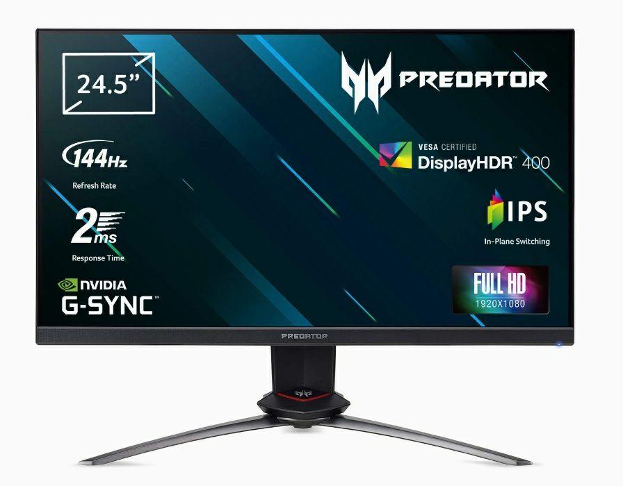 "Acer Predator XB253QGP (25"", 144Hz, 2ms, 1920x1080, IPS)"