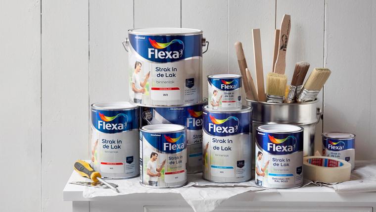 50% korting op Flexa lak en 40% korting op muurverf @ Praxis.nl