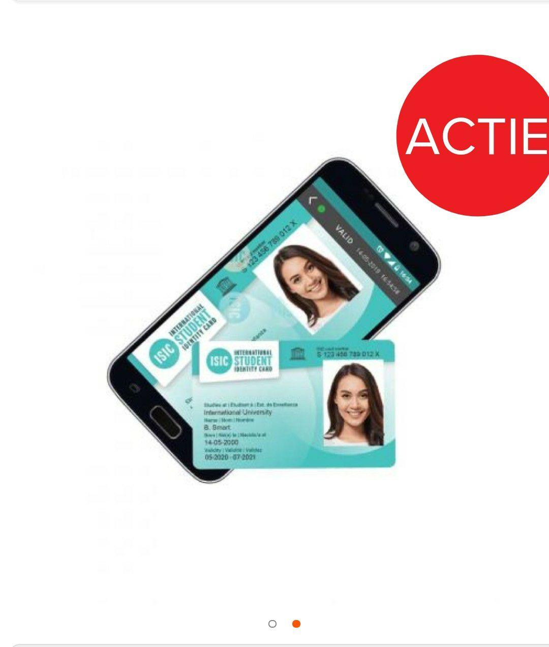 Gratis International Student Identity Card (ISIC) bij SurfSpot