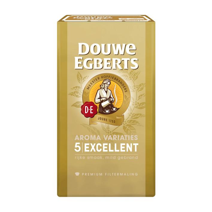 Douwe Egberts 1000 gram voor €9,49 @ AH bijvoorbeeld DE Excellent 5 filterkoffie