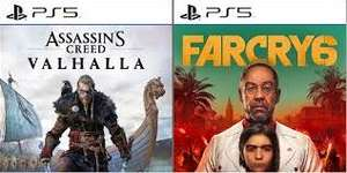 Assassin's Creed Valhalla / Far Cry 6 - PlayStation 5 (Fysiek)