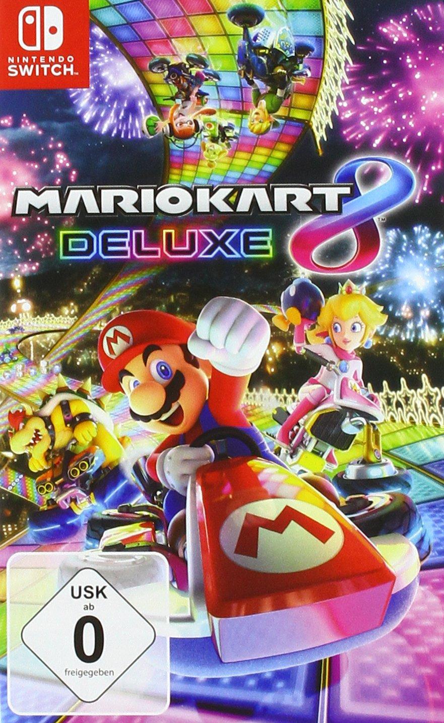 Mario Kart 8 Deluxe (duitse hoes) voor €40,46 @ Amazon DE