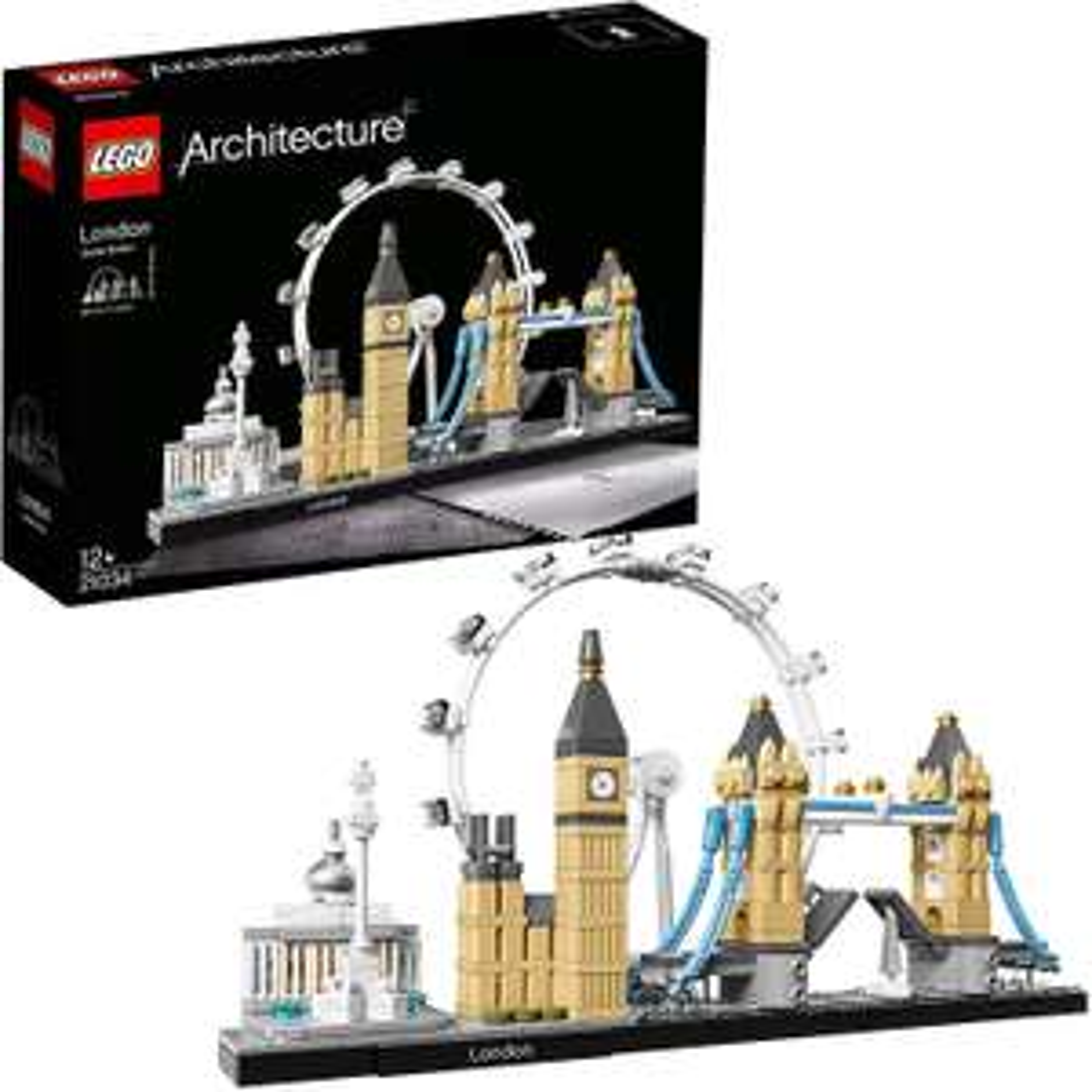 Lego 6174059 Lego Architecture Londen - 21034, Multicolor