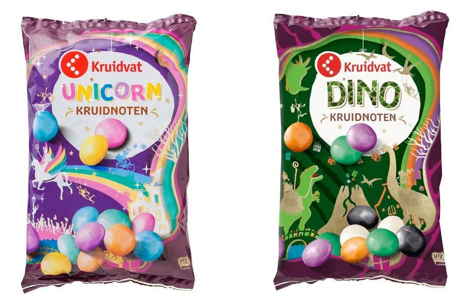 Dino & unicorn kruidnoten @ Kruidvat