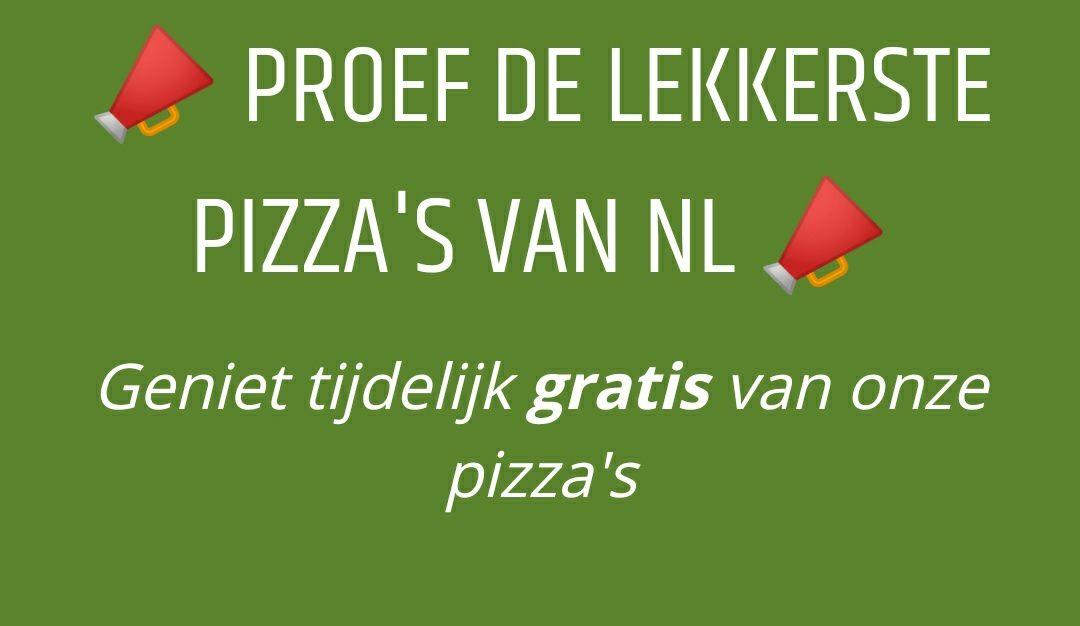 [Lokaal - De Bilt] Gratis Pizza!