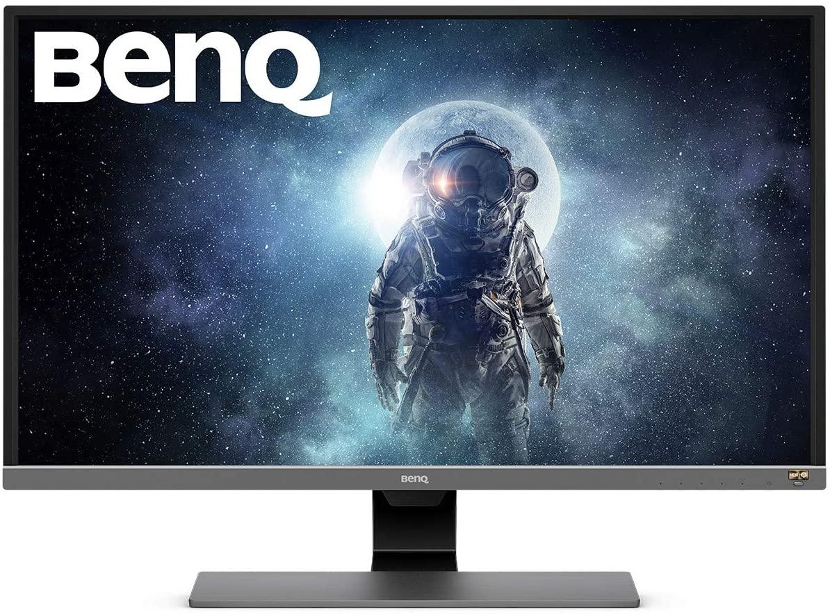 BenQ EW3270U Monitor, 60Hz, 80,01 cm (31,5 inch), 4 K UHD 3840 X 2160 pixels, HDR10, AMD FreeSync, G-sync compatible, USB-type C,