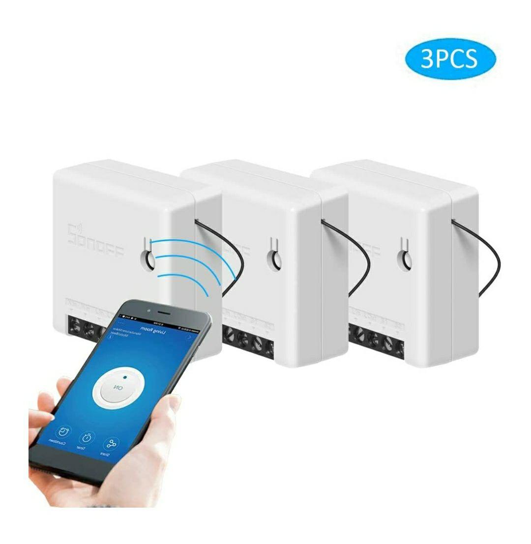 Sonoff mini switches 3 stuks