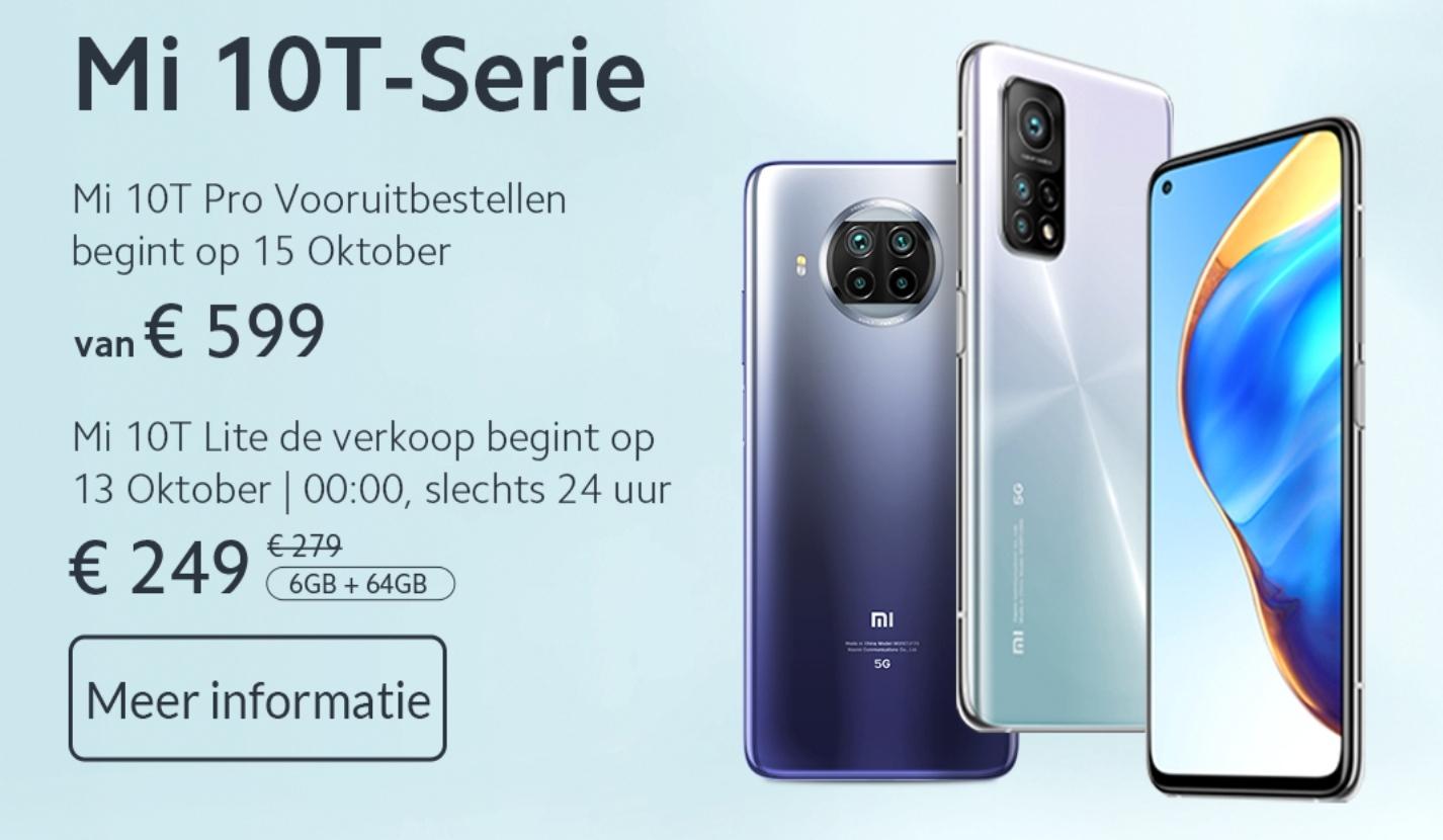 Mi 10T Lite alleen op 13 oktober voor €249 @ Mi NL Store