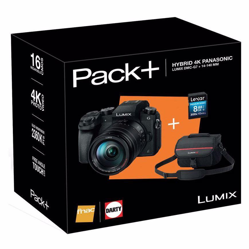 Panasonic dmc-g7h 14-140mm incl tas & 8gb sd kaart systeemcamera