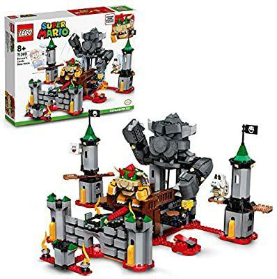 Lego Super Mario Uitbreidingsset: Eindbaasgevecht op Bowsers kasteel.. Let op: Levering na 17 nov