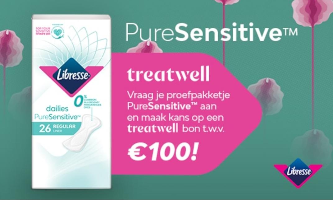 Gratis Libresse Proefpakket