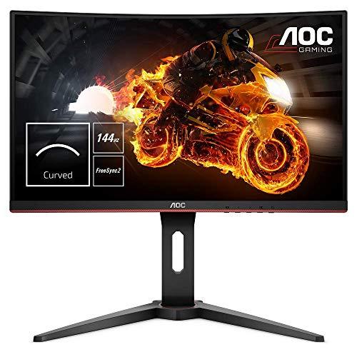 AOC C24G1 Gaming Monitor - 24 Inch, 144Hz 1 MS