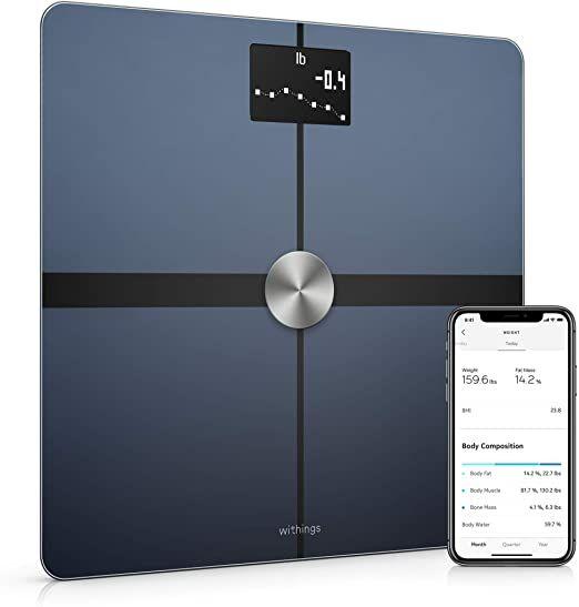 Nokia Body+ WLAN-Weegschaal Voor Lichaamssamenstelling, Zwart