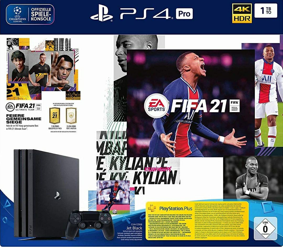 Playstation 4 Pro 1TB met FIFA 2021