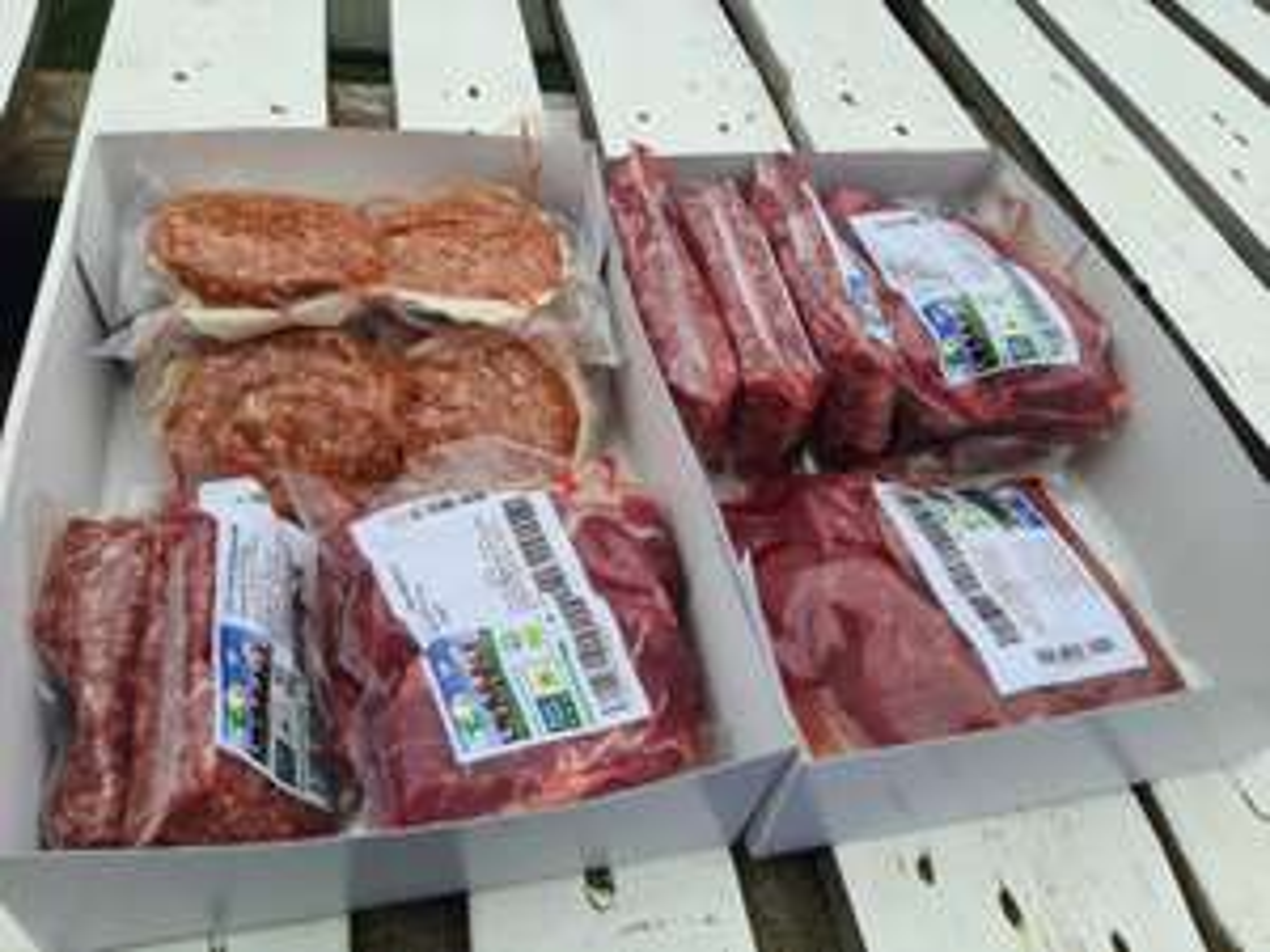 6 kilo biologisch kalfsvlees rechtstreeks van de boer (@EcoFields)