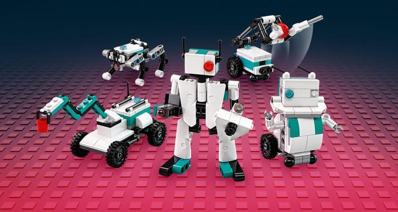 Vijf kleine LEGO MINDSTORMS robots bij besteding vanaf €100,-