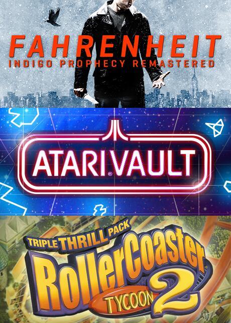 [Steam/PC] Fanatical Hall of Fame Bundle met RollerCoaster Tycoon 2: Triple Thrill Pack, Atari Vault en Fahrenheit