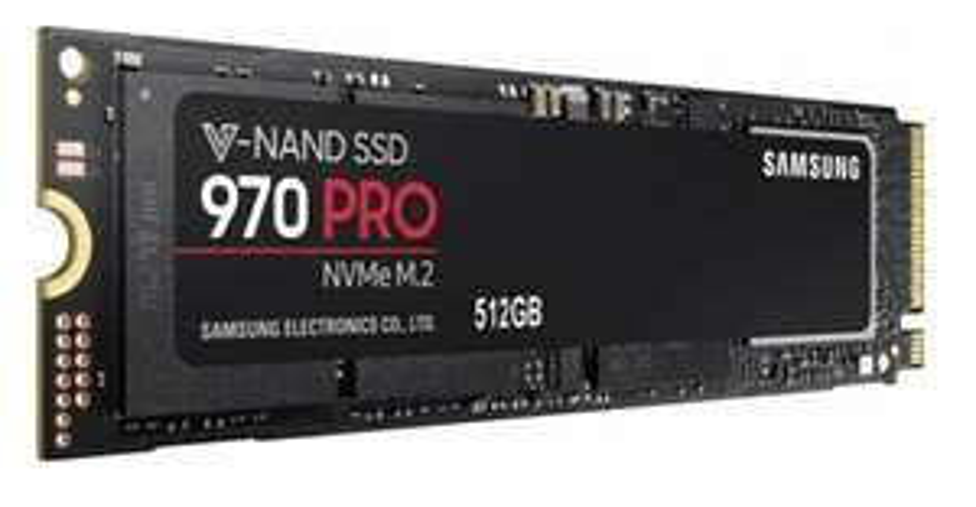 Samsung 970 Pro 512GB M.2 NVMe